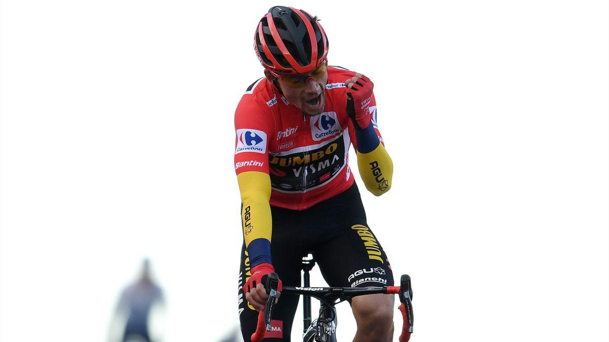 Primoz Roglic steht unmittelbar vor dem Gesamtsieg bei der Vuelta 2020