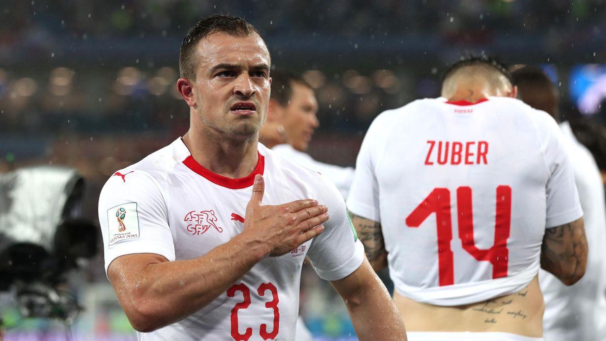 Xherdan Shaqiri (Suisse), buteur décisif contre la Serbie