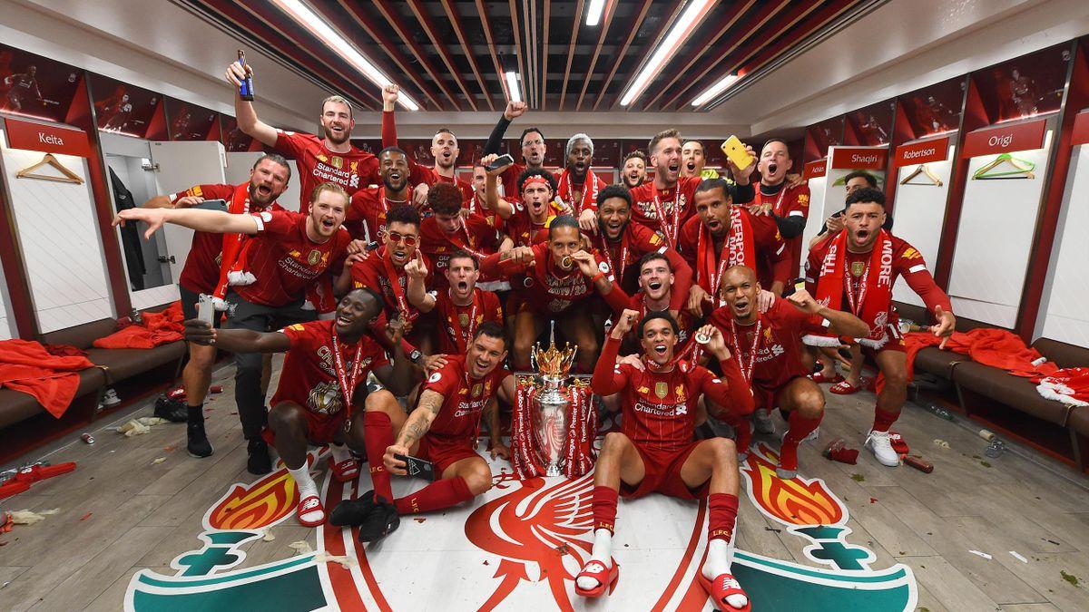 Liverpool a sărbătorit primul titlu câștigat în era Premier League