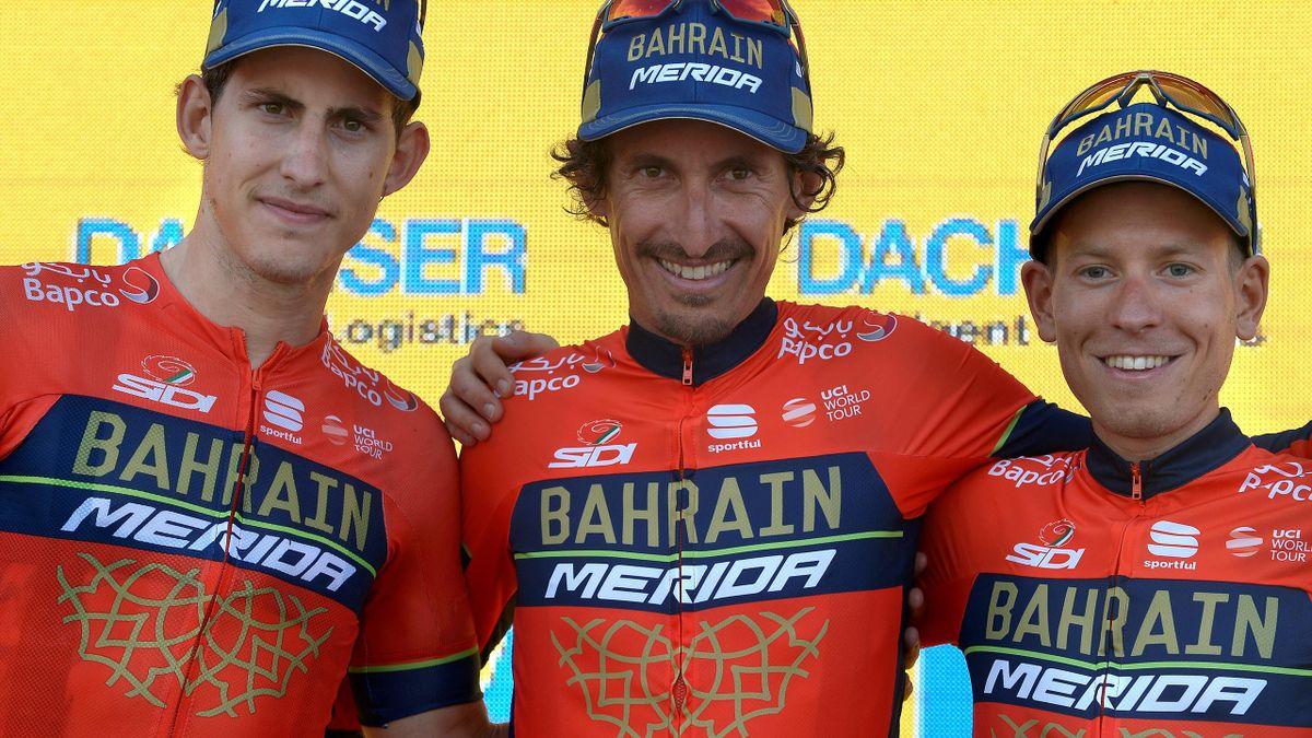 Prominente Unterstützung für das Team Bahrain-Merida