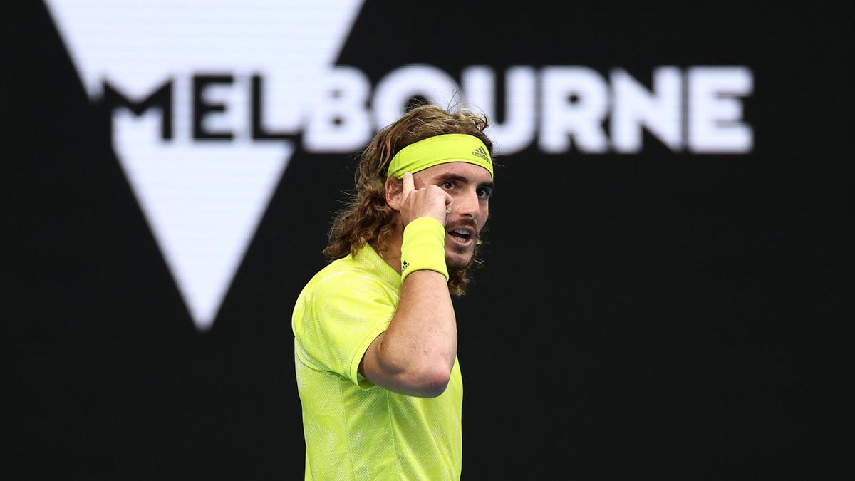 Stefanos Tsitsipas à l'Open d'Australie