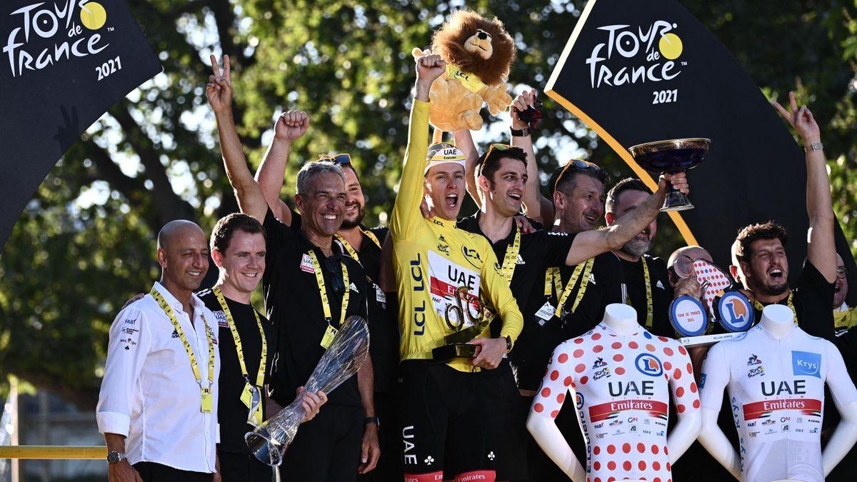 Tadej Pogacar, Tour de France 2021
