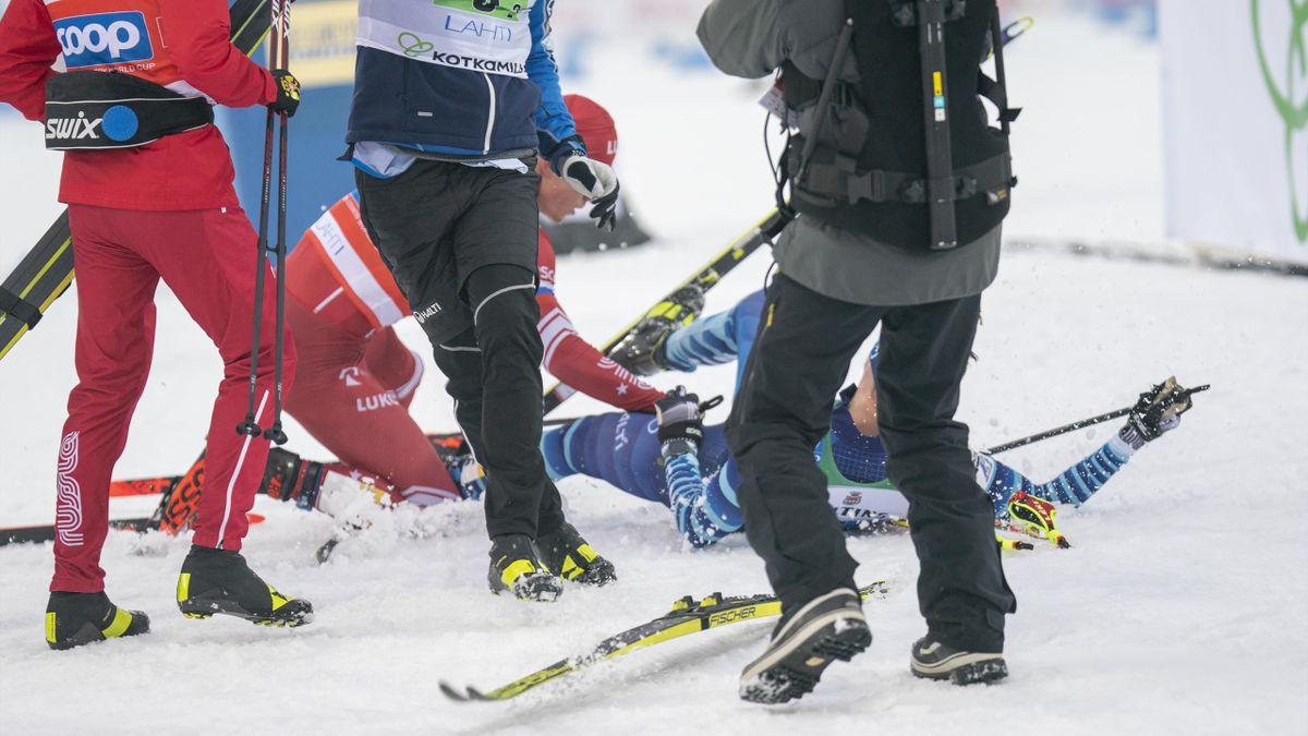 Alexander Bolschunow gegen Joni Mäki in Lahti