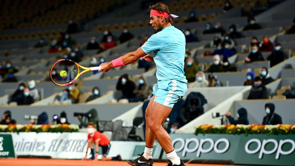 Rafael Nadal bs Jannik Sinner, Roland-Garros 2020