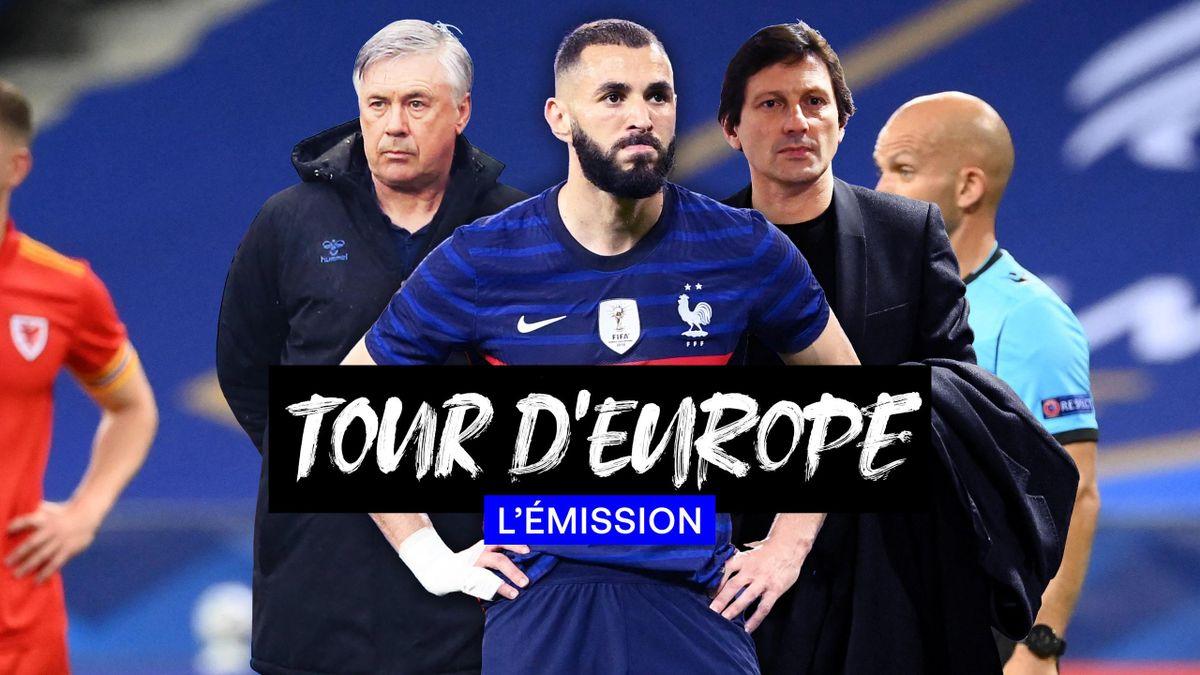 Le 4-4-2 des Bleus, les tensions autour de Leonardo, le doute Ancelotti : Regardez Tour d'Europe