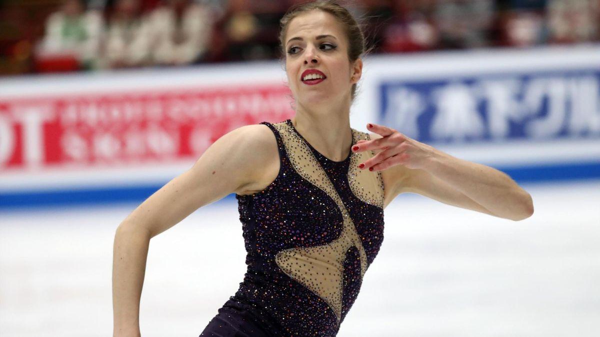 Carolina Kostner - ISU World Figure Skating Championships 2018 - Milano, campionati mondiali di pattinaggio artistico - LaPresse
