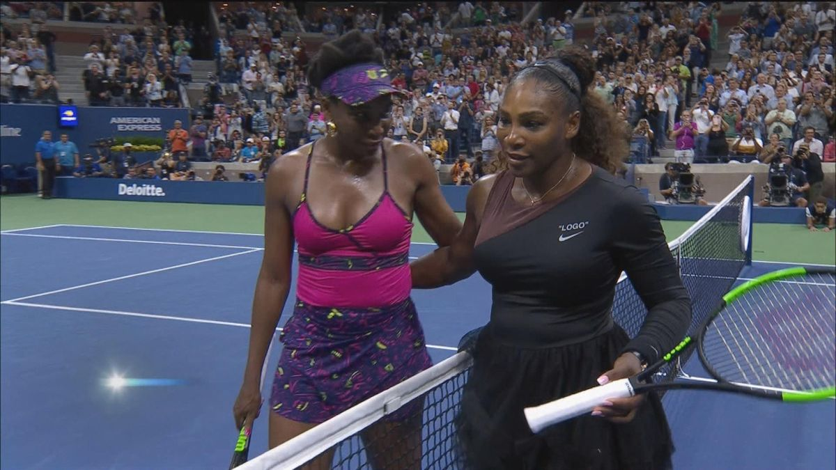 US Open: day 5 - Williams vs Williams IS