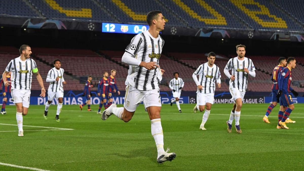 Cristiano Ronaldo - Barcellona-Juventus - Champions League 2020/2021 - Getty Images