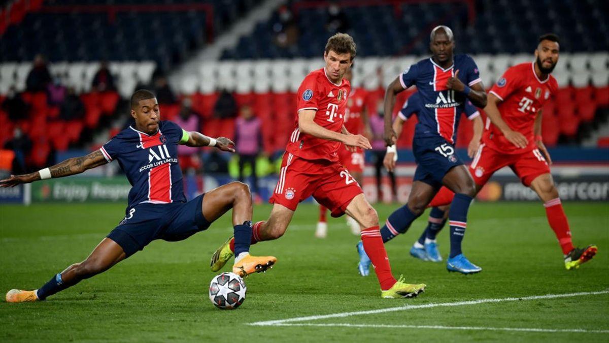 Bayerns Thomas Müller im Champions-League-Viertelfinale gegen Paris Saint-Germain