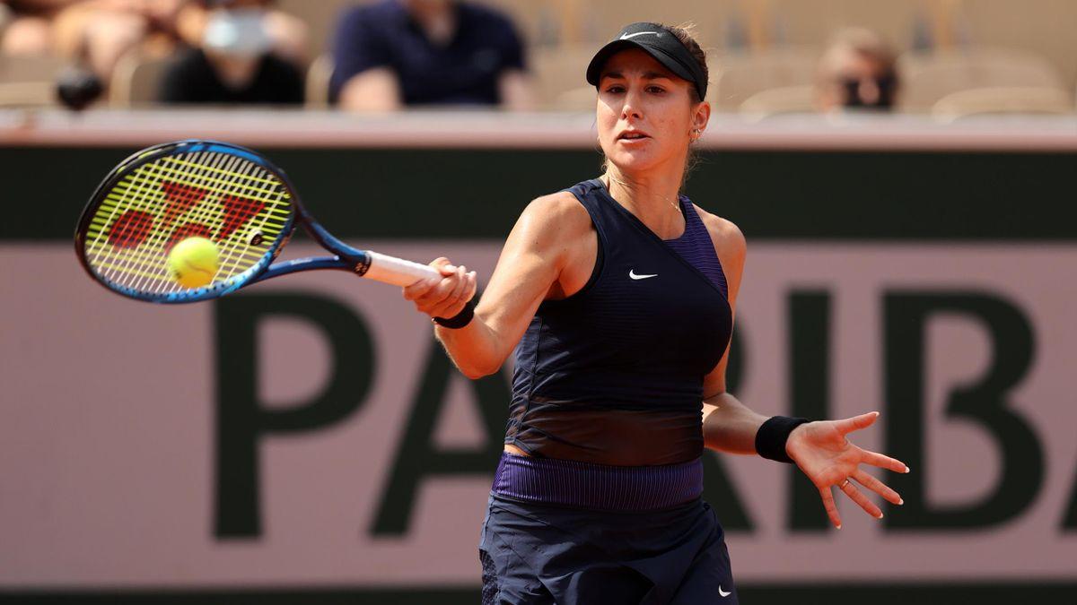 Belinda Bencic bei den French Open in Paris