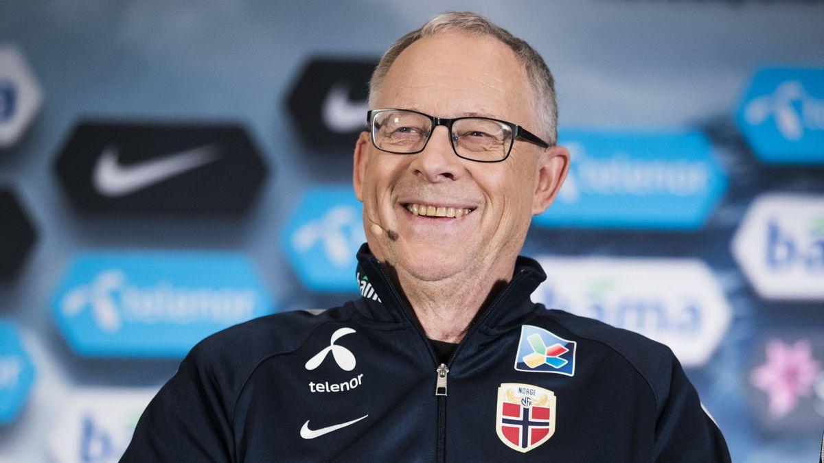 Lars Lagerbäck, trener Norge
