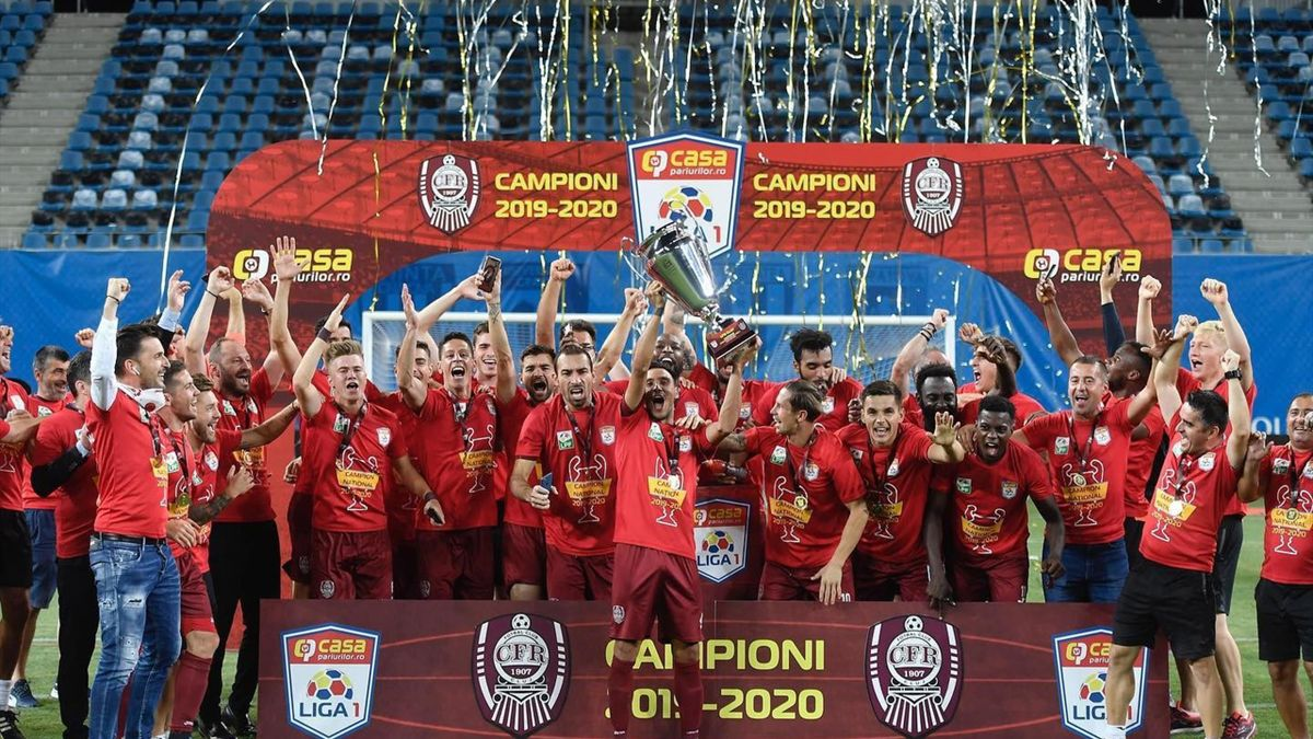 CFR Cluj a cucerit al treilea titlu de campioană a României consecutiv