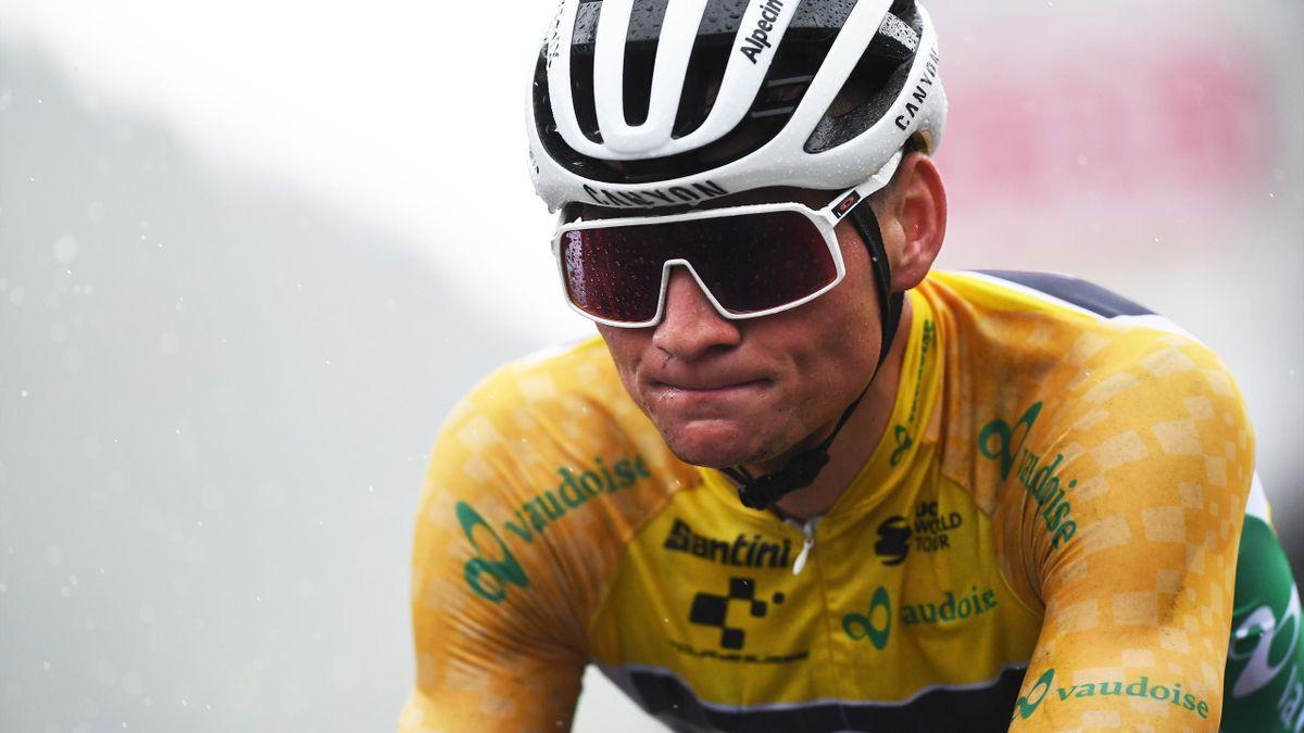 Mathieu van der Poel führt die Gesamtwertung der Tour de Suisse an