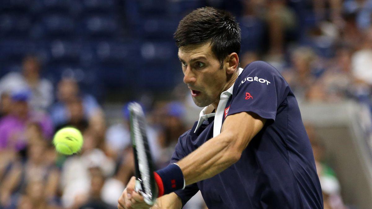 Novak Djokovic hat gegen Feliciano Lopez den Halbfinal-Einzug perfekt gemacht