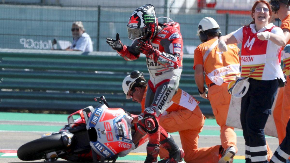 Jorge Lorenzo, Marc Márquez (GP Aragón)