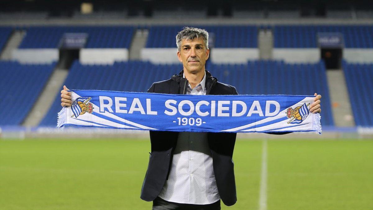 Imanol Alguacil, nuevo entrenador de la Real Sociedad