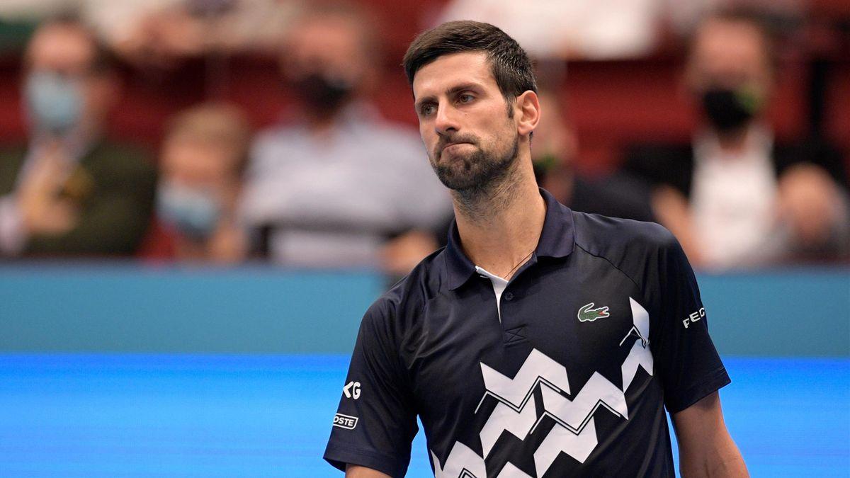Novak Djokovic scheiterte krachend im Viertelfinale von Wien