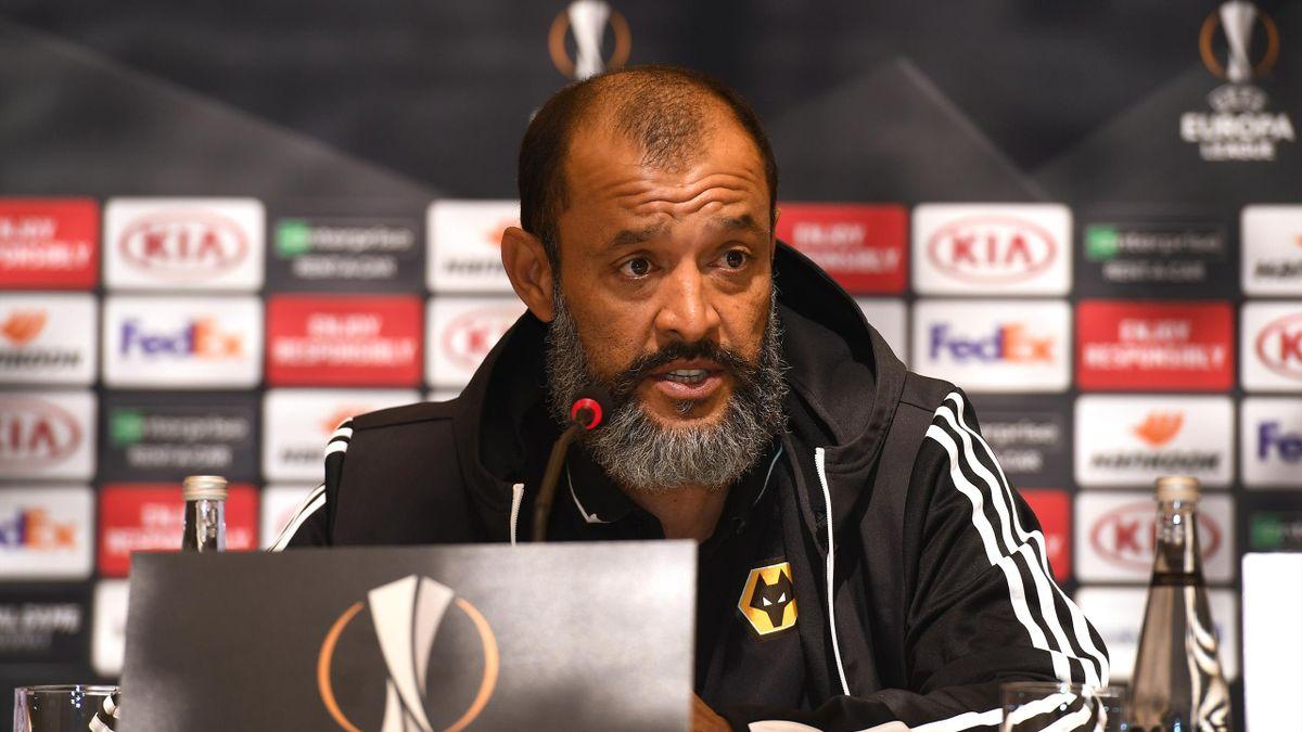 Nuno Espirito Santo the head coach / manager of Wolverhampton Wanderers