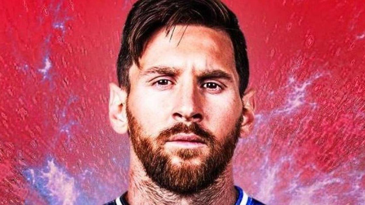Leo Messi con la maglia del PSG
