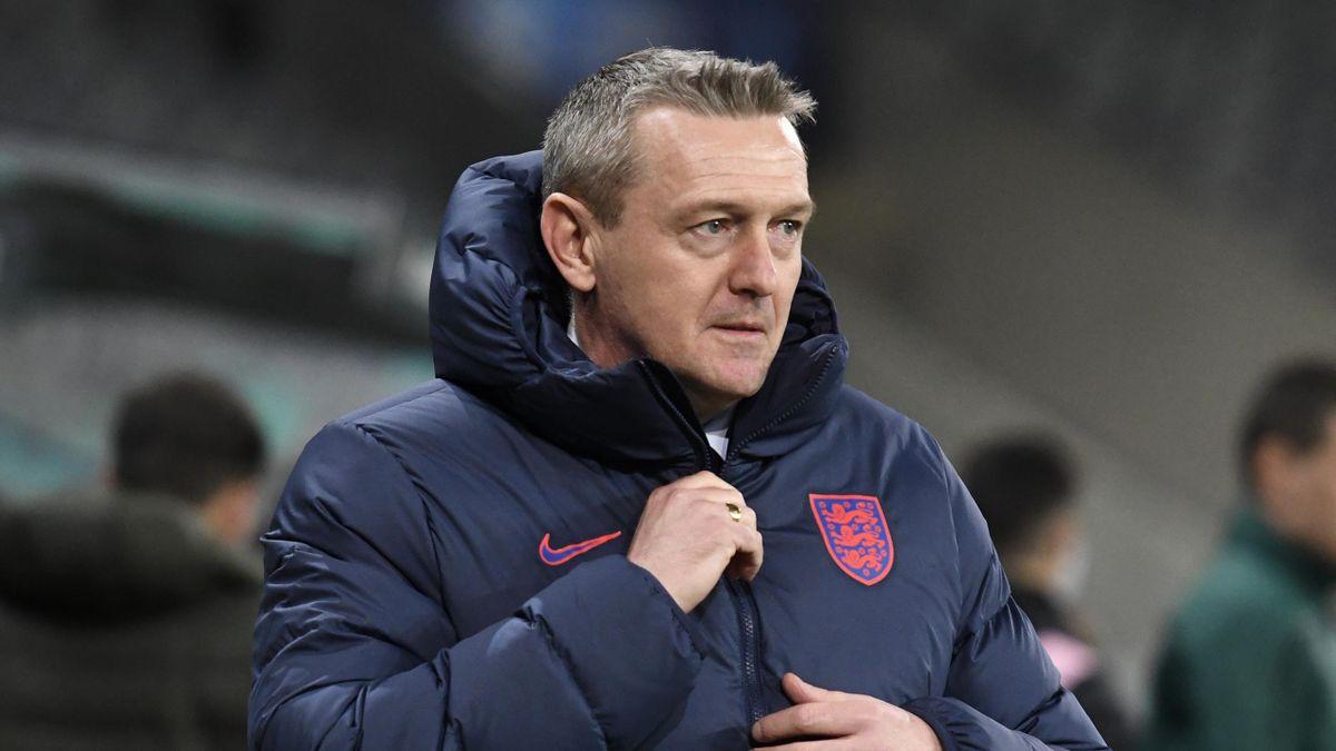 England Under-21 head coach Aidy Boothroyd