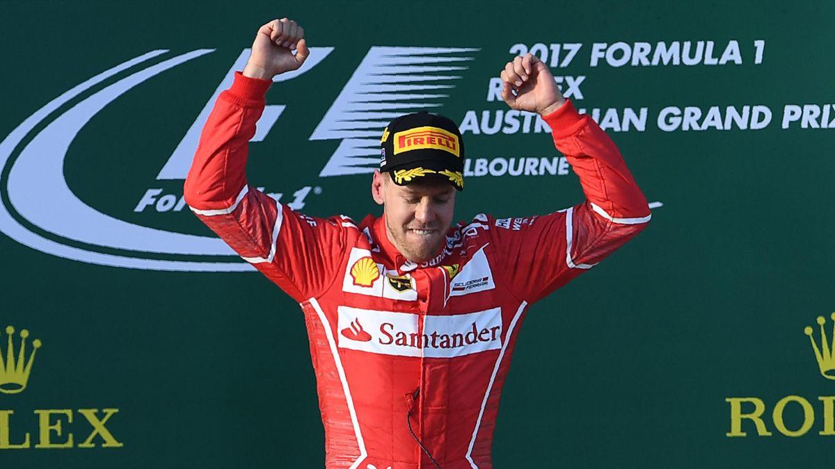 Sebastian Vettel (Ferrari) - GP of Australia 2017