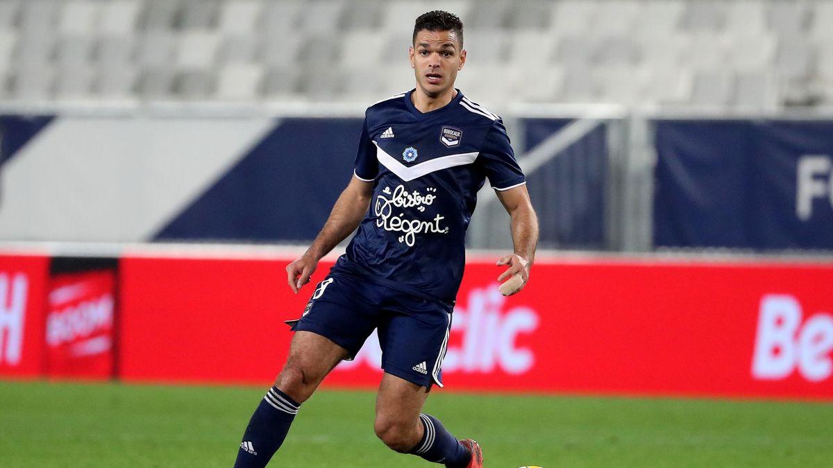Hatem Ben Arfa lors du match opposant Bordeaux à Montpellier, le 7 novembre 2020, en Ligue 1