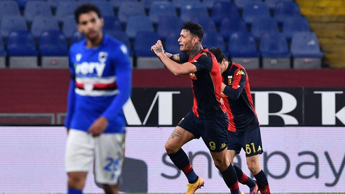 Sampdoria-Genoa 1-3: Verre illude Ranieri, ma il Grifone ribalta il derby  con Scamacca e Lerager - Eurosport