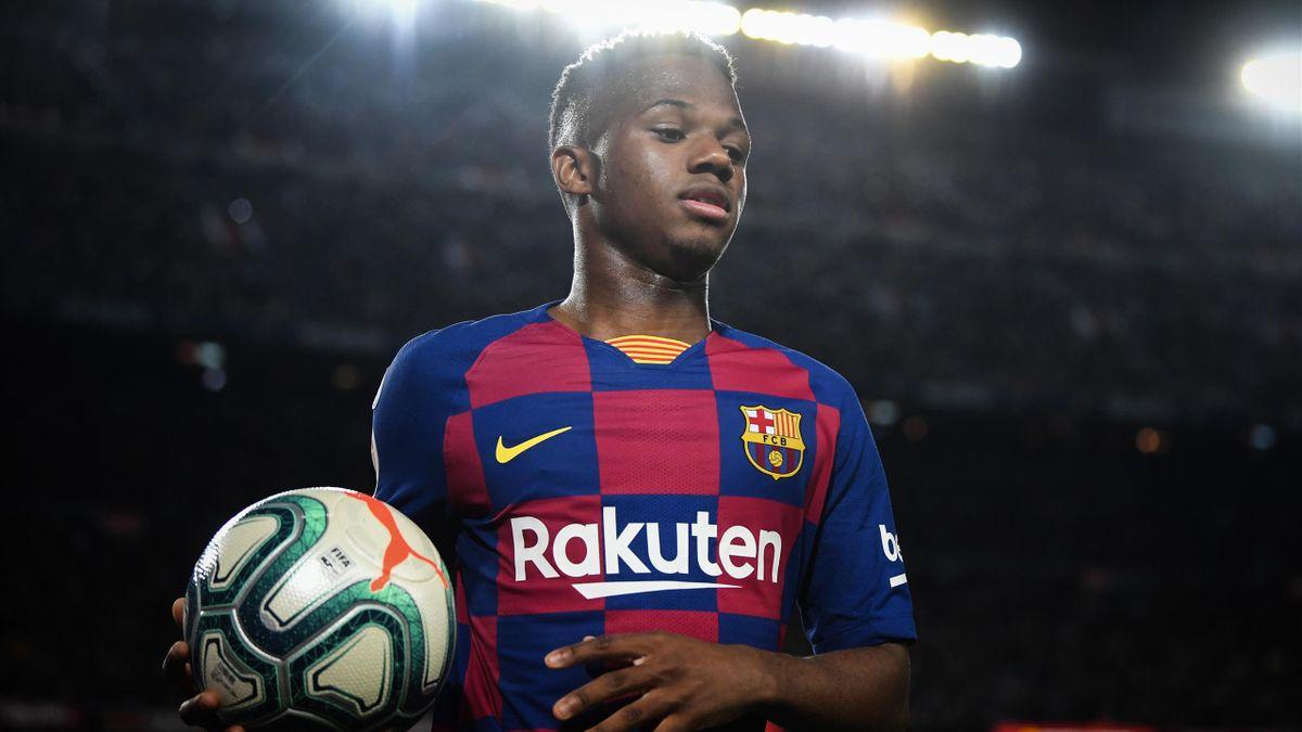 Ansu Fati nu va merge în Premier League