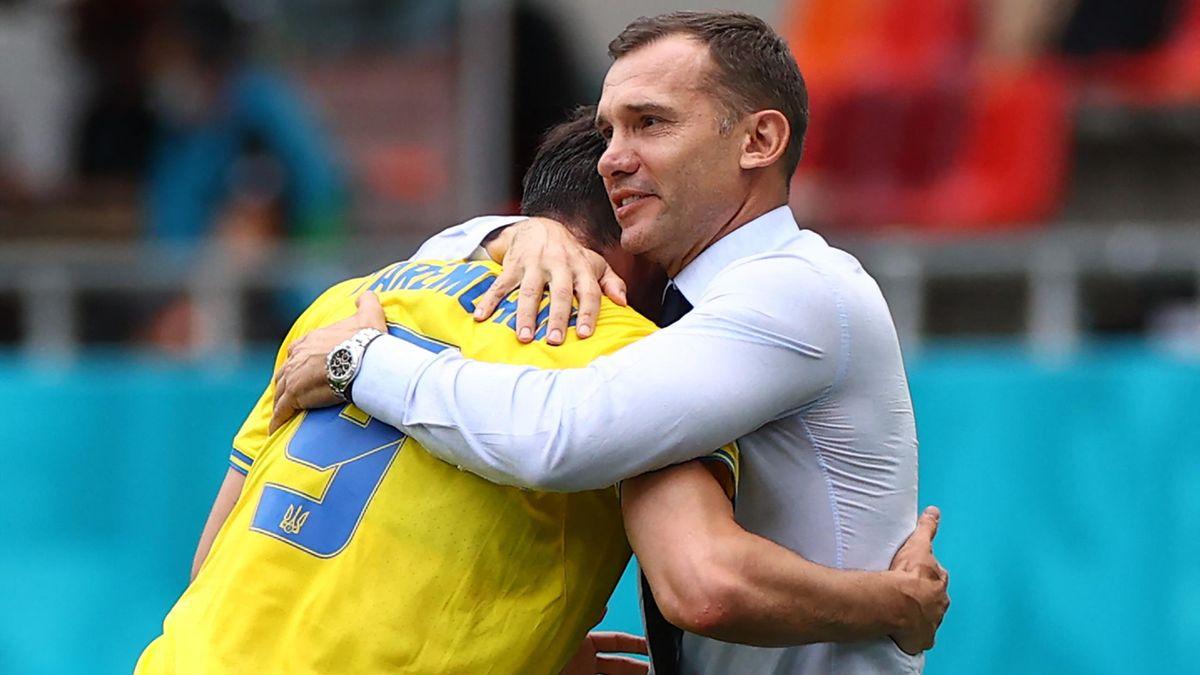 Andriy Shevchenko și Yaremchuk