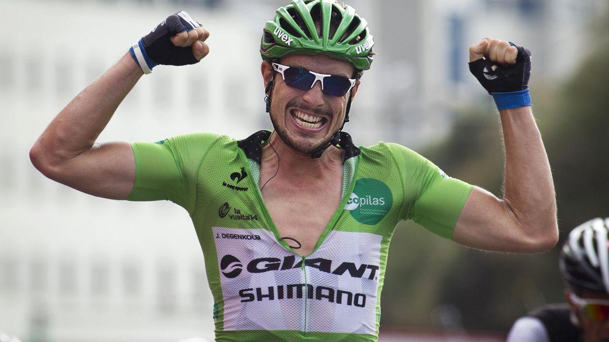 John Degenkolb im Grünen Trikot bei der Vuelta 2014