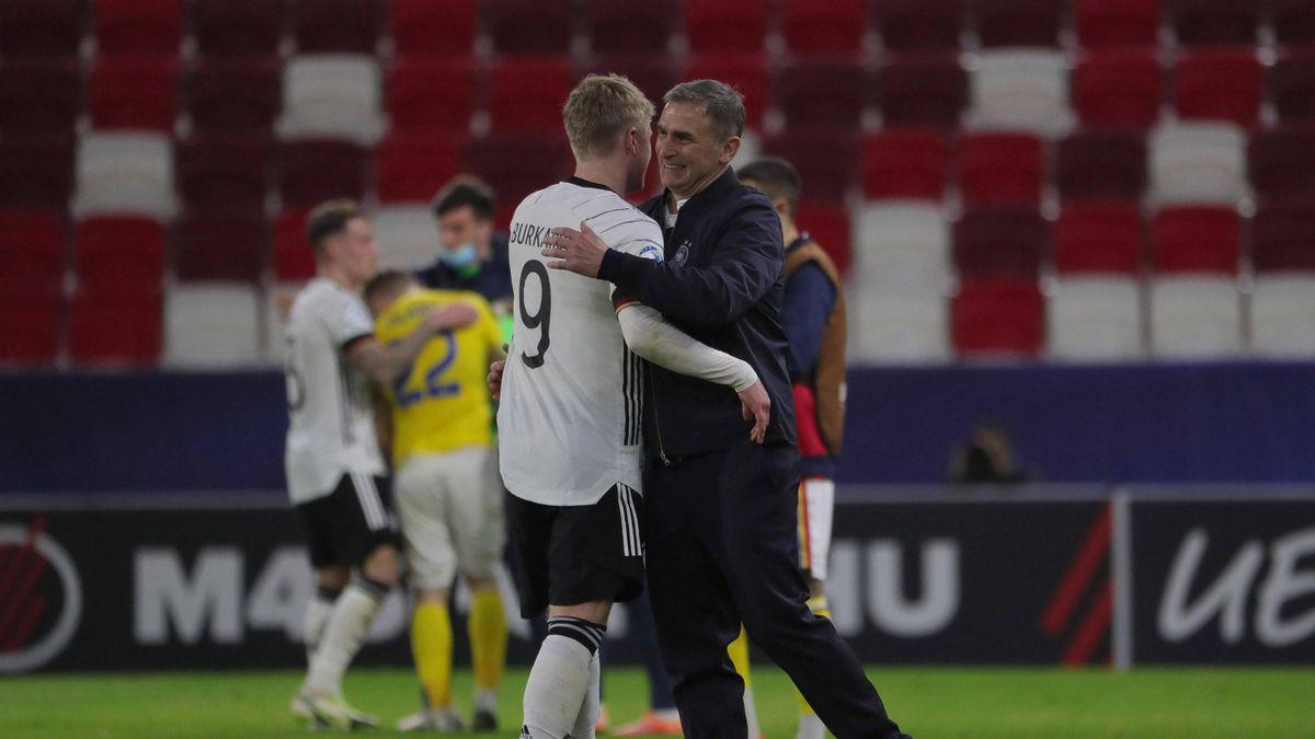 Die deutsche U21-Nationalmannschaft steht im Viertelfinale der Europameisterschaft