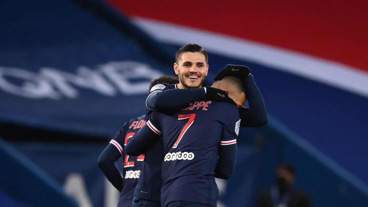 Mauro Icardi, PSG-Montpellier, Ligue 1 2020/21, Getty