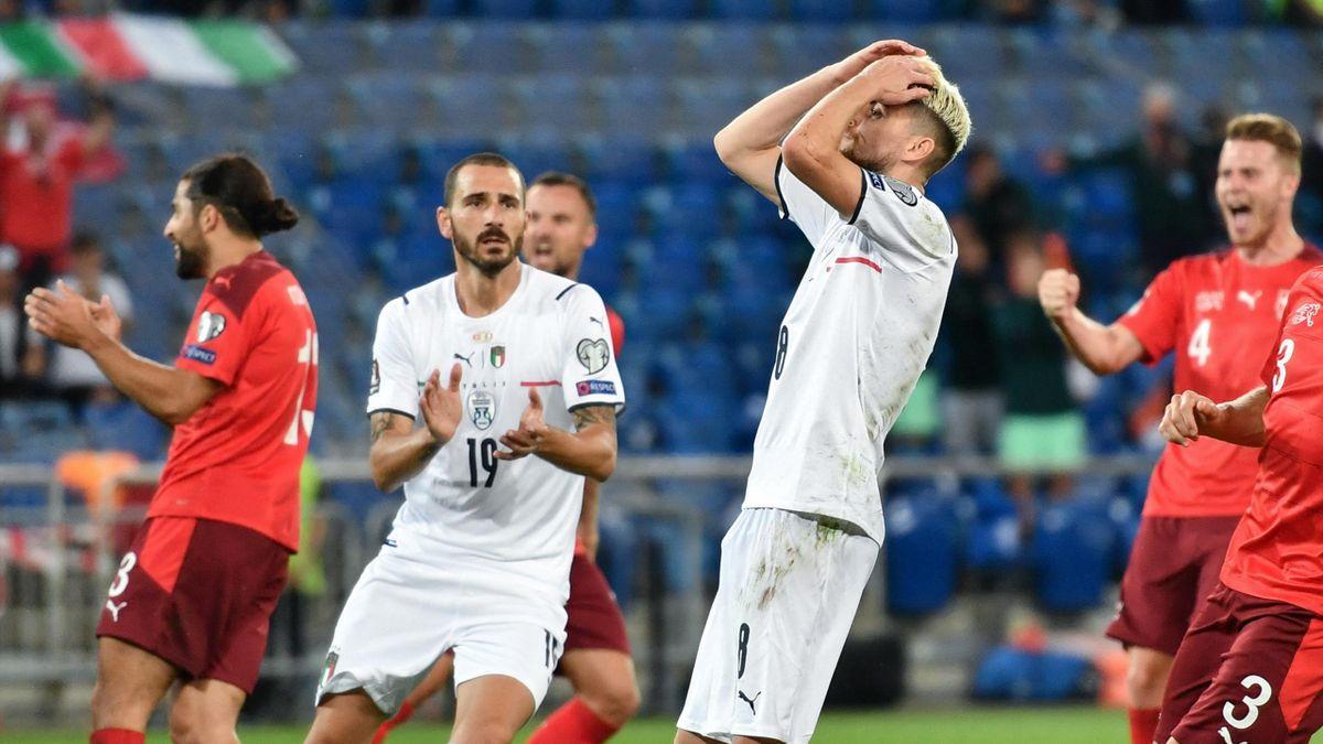 Italien kommt gegen die Schweiz nicht über ein Unentschieden hinaus