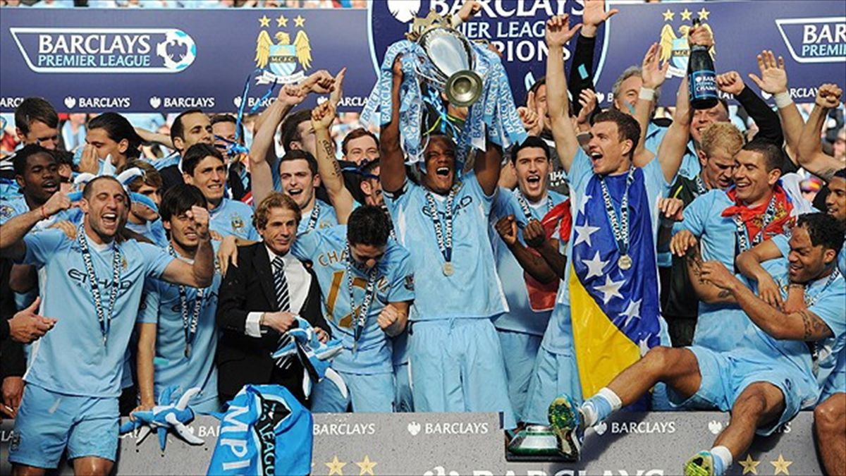 manchester city celebration 2012 champion