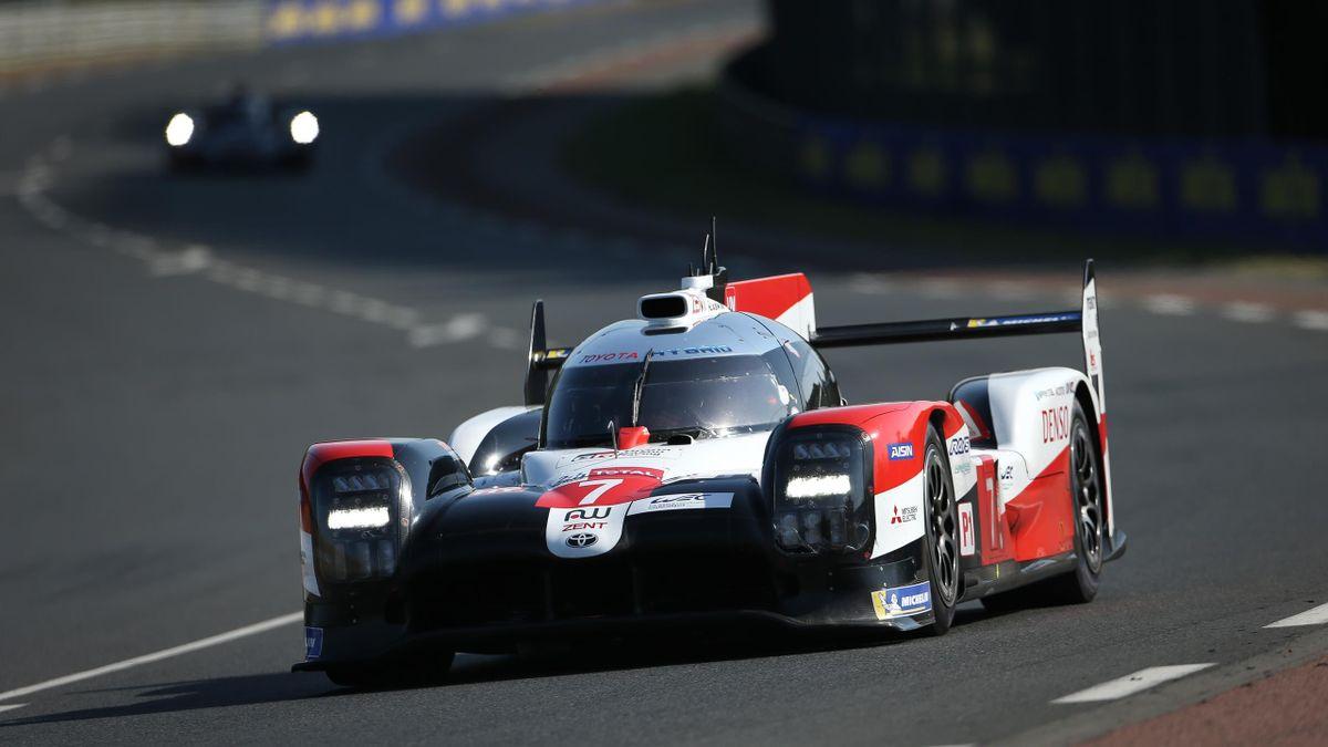 07 Toyota Gazoo Racing TS050 Hybrid - Mike Conway, Kamui Kobayashi und Jose Maria Lopez