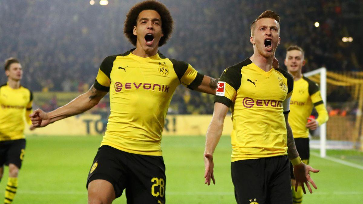 Axel Witsel, Marco Reus (Borussia Dortmund vs. FC Bayern München)