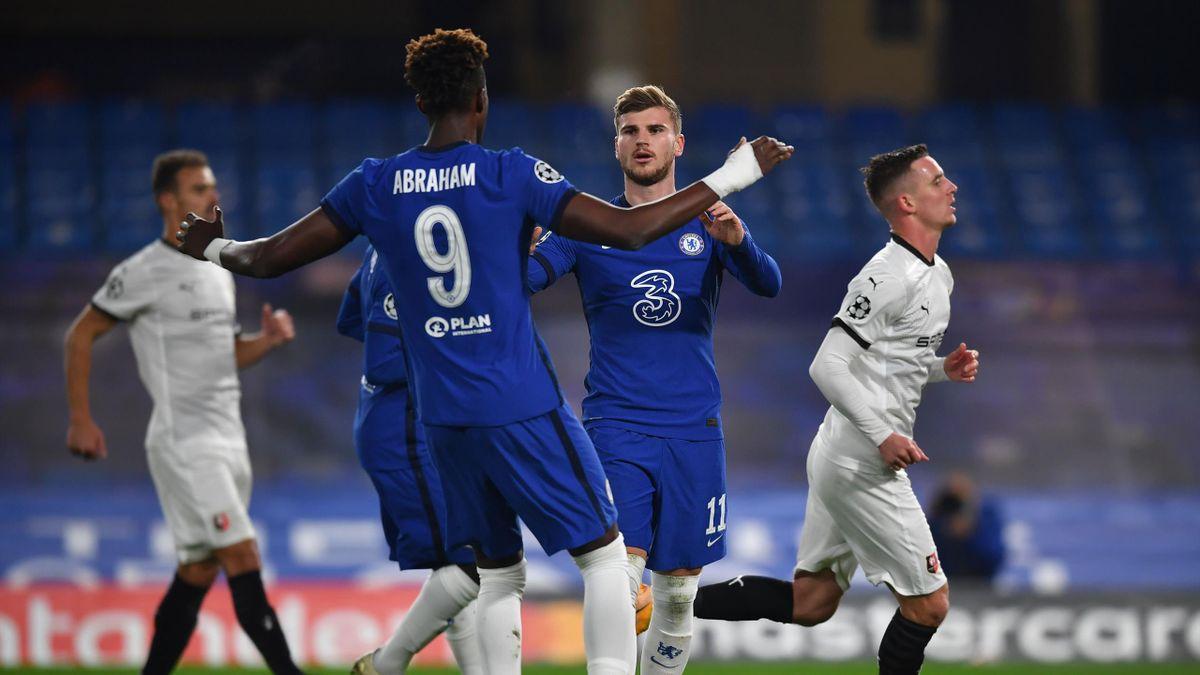 Timo Werner und Tammy Abraham - FC Chelsea