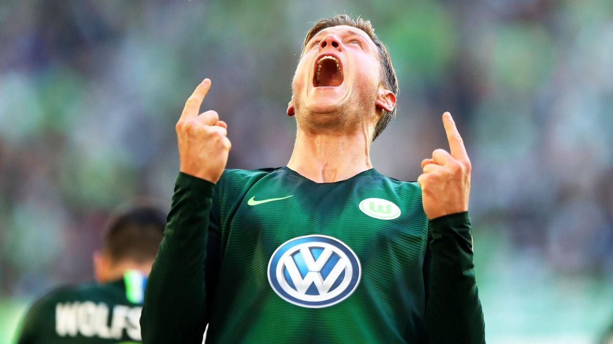 Wout Weghorst (VfL Wolfsburg vs. Borussia Mönchengladbach)
