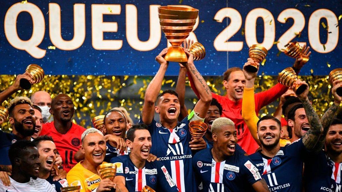 PSG a câștigat finala cupei Ligii după ce a învins la penaltyuri pe Lyon