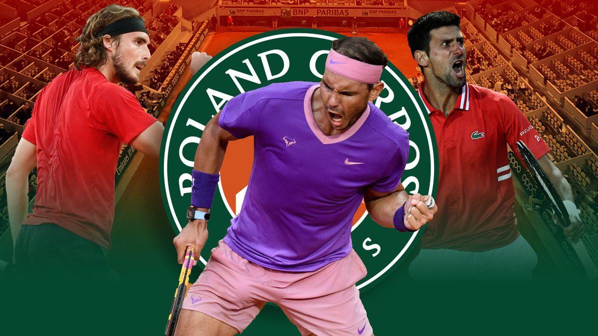 Roland Garros: Nadal-Djokovic-Tsitsipas
