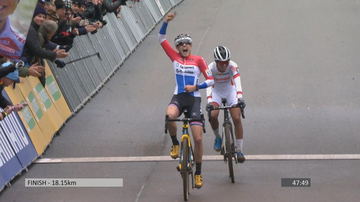 CycloCross Zolder Round 7 : Finish Women