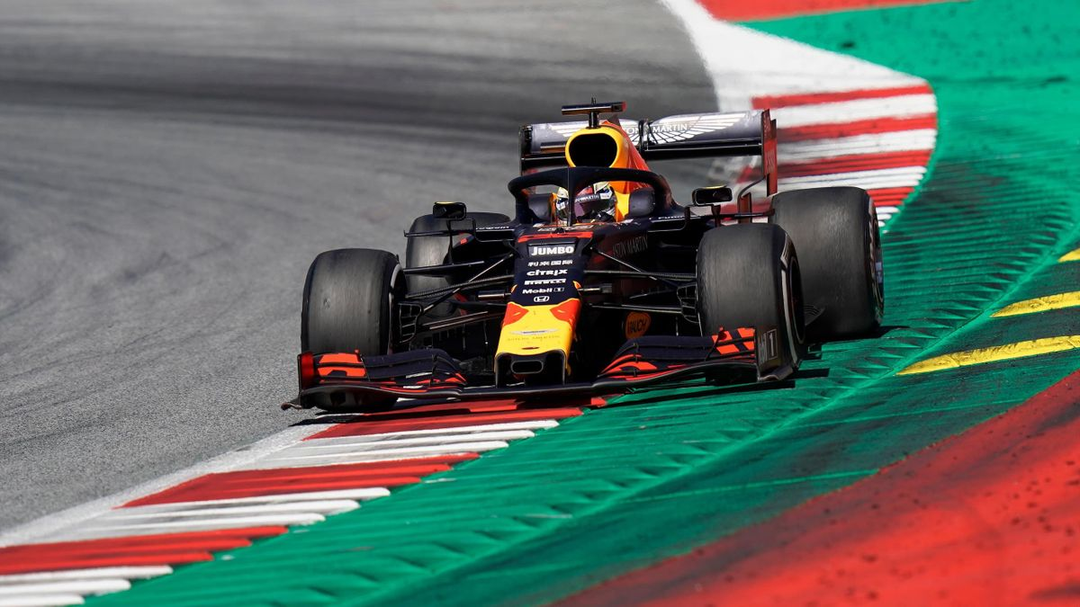 Max Verstappen of Netherlands and Red Bull Racing during the F1 Grand Prix of Austria at Red Bull Ring on June 30, 2019 in Spielberg, Austria.