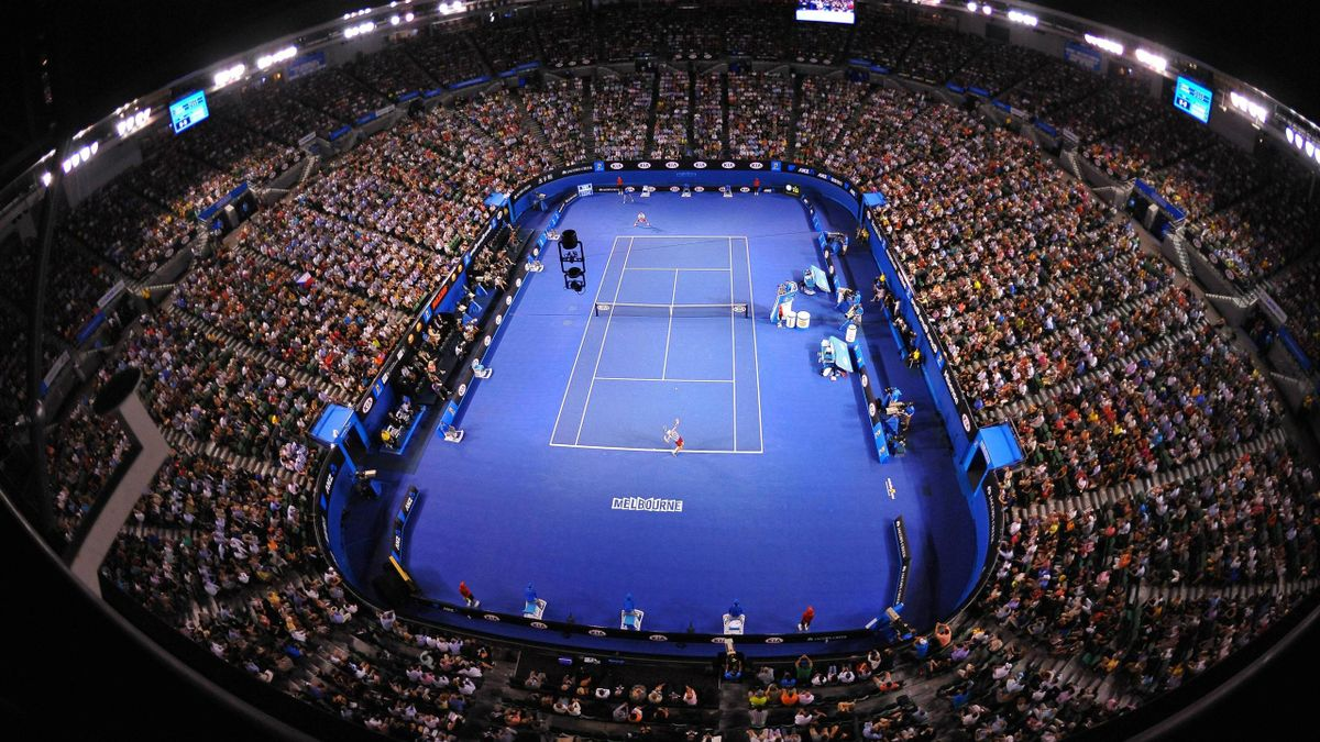 Die Margaret Court Arena in Melbourne