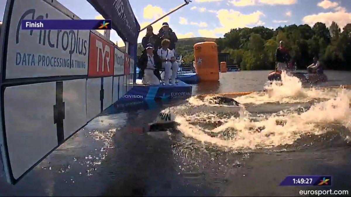 Ferry Weertman finish