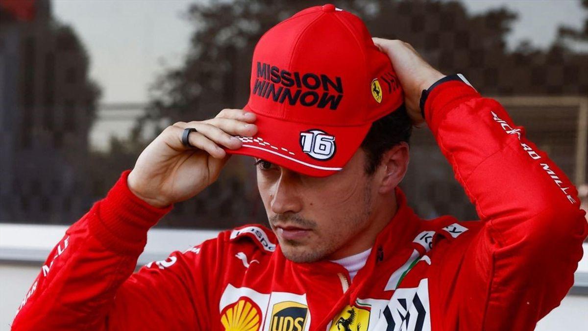 Charles Leclerc (Ferrari) au Grand Prix d'Azerbaïdjan 2021