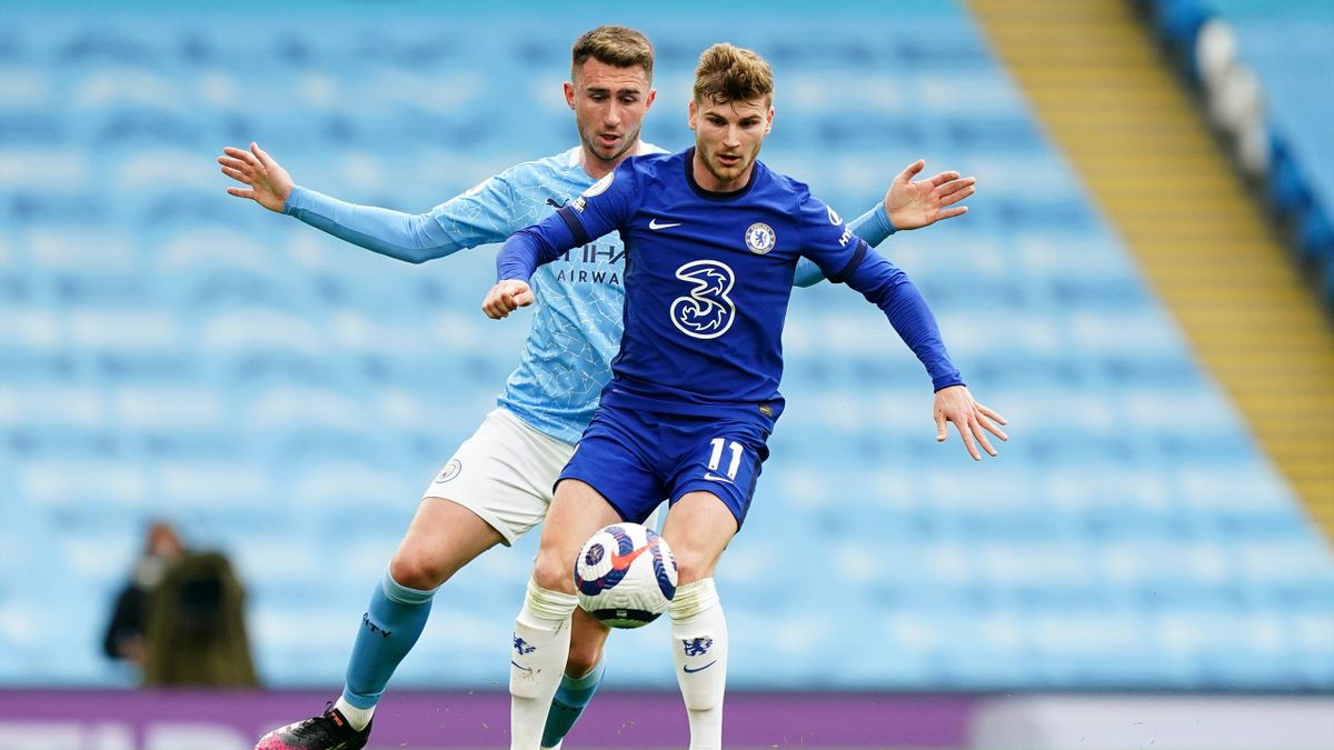 Timo Werner (FC Chelsea) - Aymeric Laporte (Manchester City)