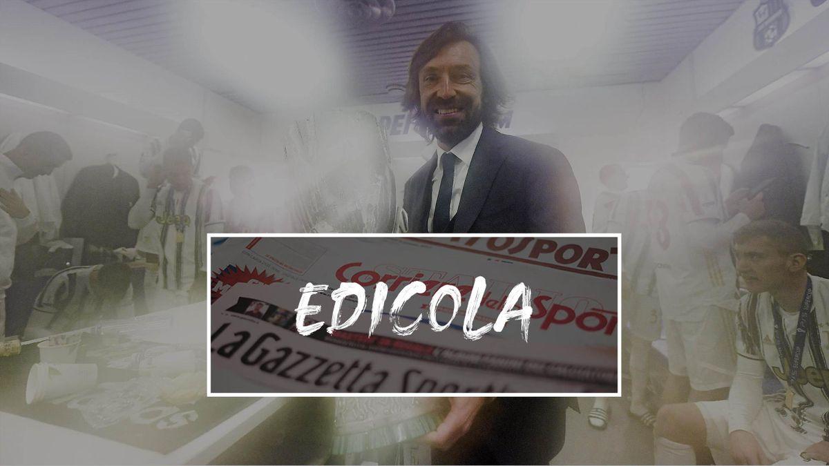 Andrea Pirlo, Edicola, Eurosport