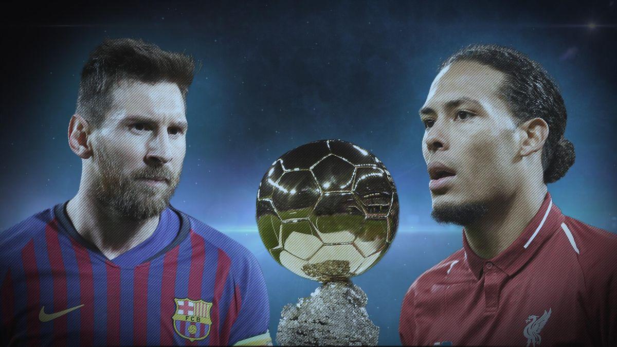 Lionel Messi et Virgil van Dijk, deux candidats qui se détachent dans la course au Ballon d'Or 2019