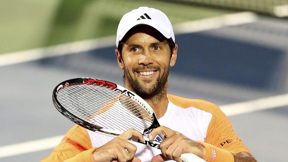 Fernando Verdasco en el ATP 500 de Dubái