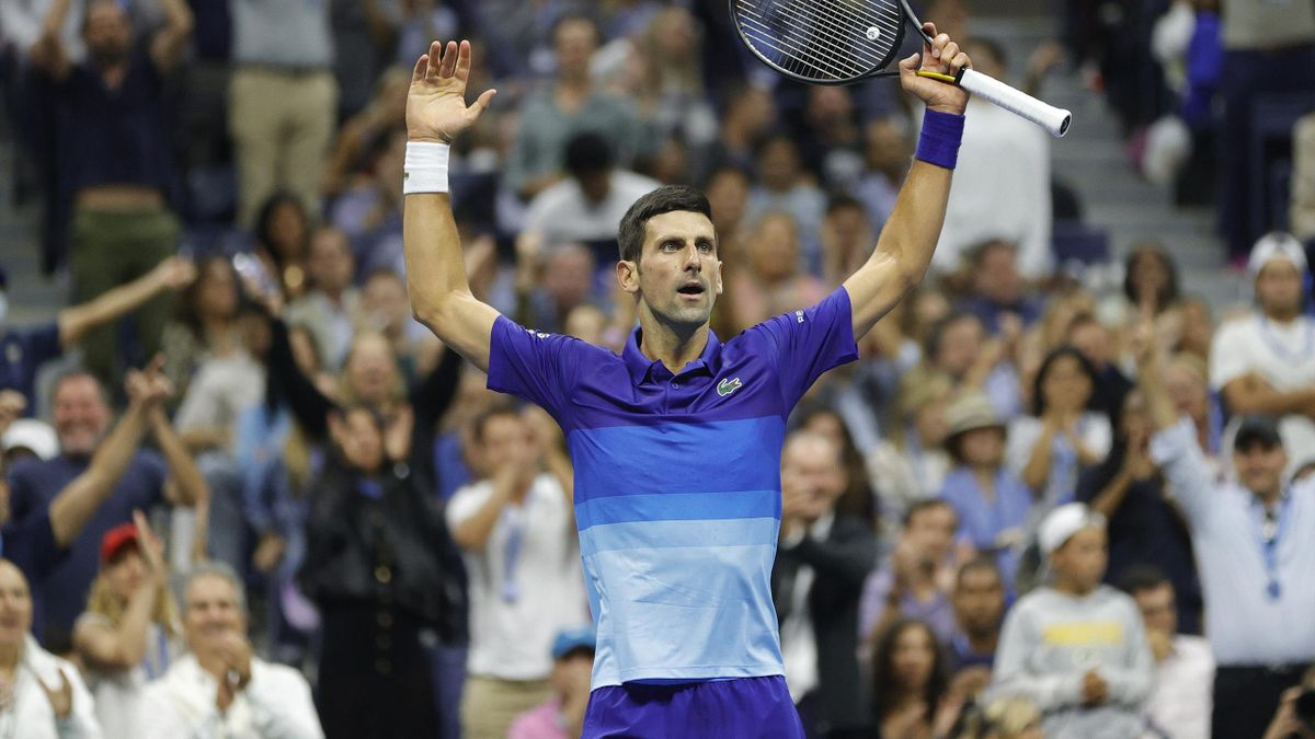 Novak Djokovic enflamme le court Arthur-Ashe.